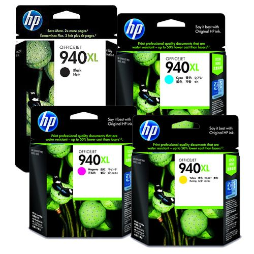 HP 純正インク HP940XL HP940シリーズ 4色セット