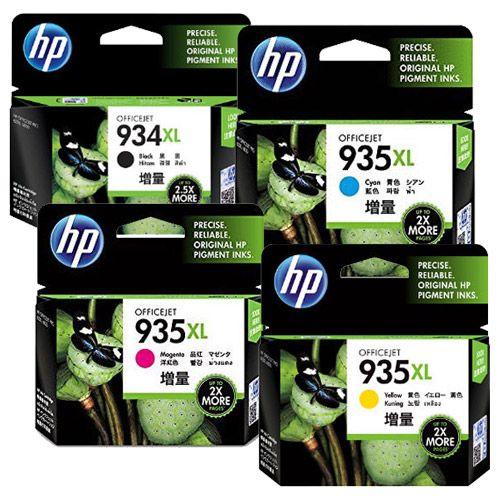 HP 純正インク HP934XL+935XL HP934/935シリーズ 4色セット