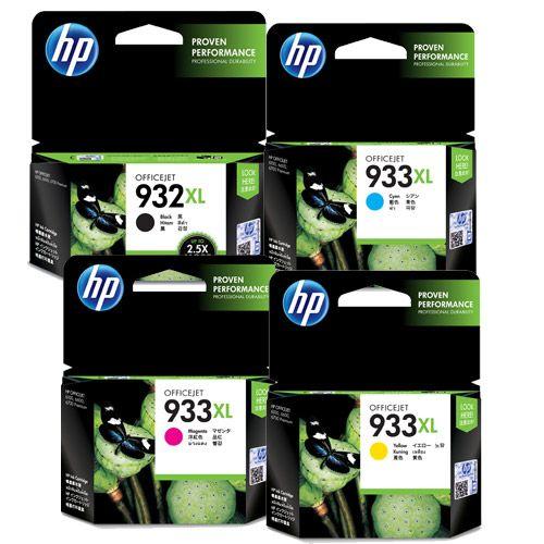 HP 純正インク HP932XL+933XL HP932/933シリーズ 4色セット
