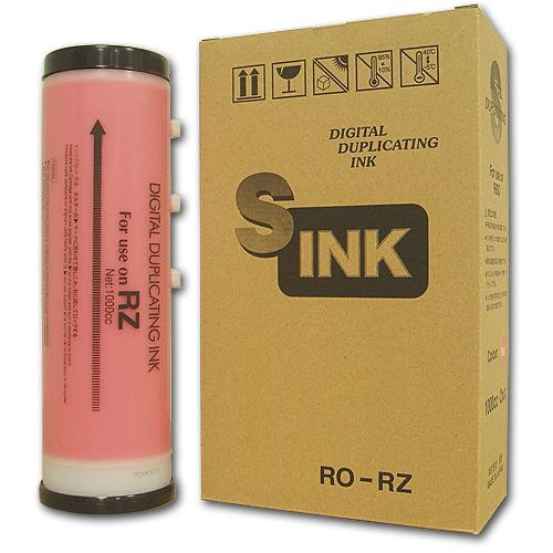 軽印刷機対応インク RO-RZ 赤 10本セット