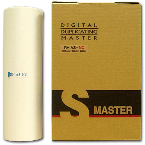 軽印刷機対応マスター RHA3-NC 2本セット