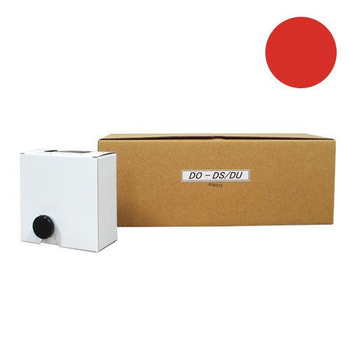 軽印刷機対応インク DO-DS/DU 汎用品 赤 12本セット