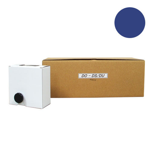 軽印刷機対応インク DO-DS/DU 汎用品 青 12本セット