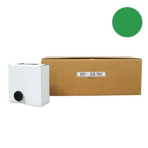 軽印刷機対応インク DO-DS/DU 汎用品 緑 12本セット