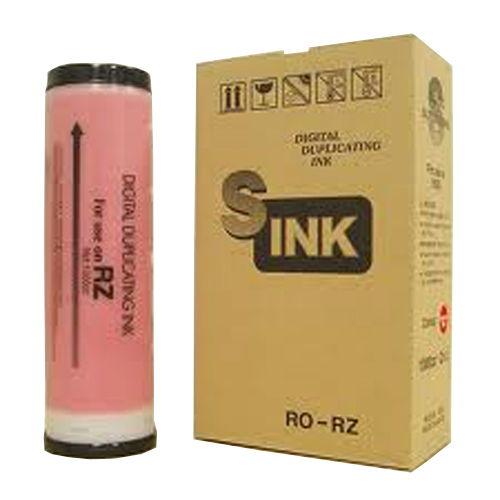 軽印刷機対応インク RO-RZ ブライトレッド 10本セット
