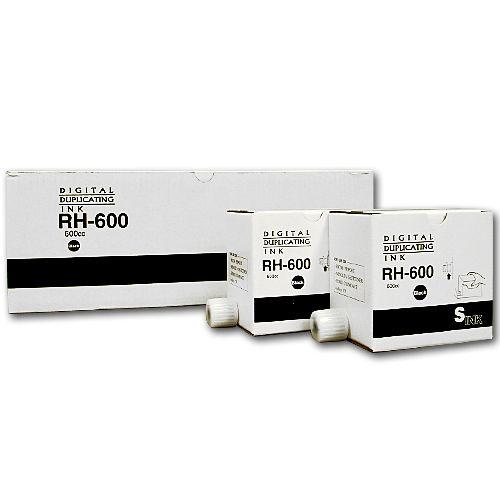 軽印刷機対応インク RH600 汎用品 黒 5本セット