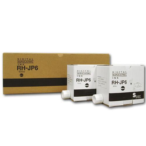 軽印刷機対応インク RH-JP6 汎用品 黒 5本セット