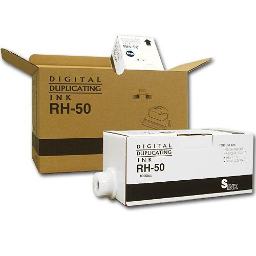 軽印刷機対応インク RH-JP6 汎用品 青 5本セット