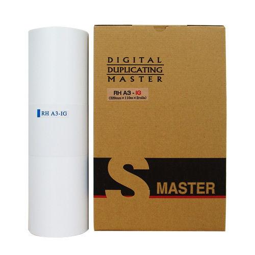 軽印刷機対応マスター RHA3-IG 汎用品 2本セット