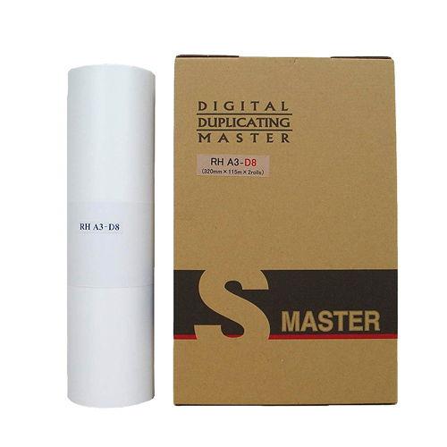 軽印刷機対応マスター RHA3-D8 汎用品 2本セット