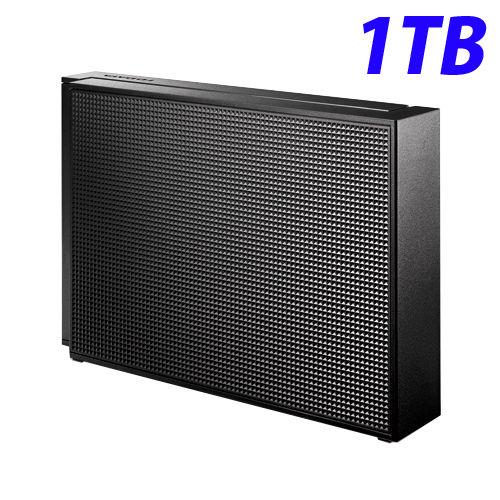 アイ・オー・データ HDD 外付ハードディスクドライブ USB3.0/2.0対応 1TB ブラック HDCZ-UT1K