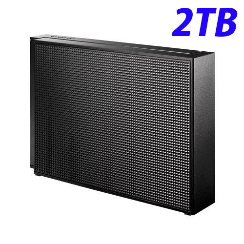 アイ・オー・データ HDD 外付ハードディスクドライブ USB3.0/2.0対応 2TB ブラック HDCZ-UT2KC