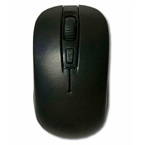 リーダーメディアテクノ 無線マウス ワイヤレス 光学式マウス 小型 2.4GHz コンパクトタイプ 3ボタン ブラック Y24-MS