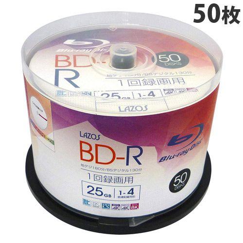 Lazos BD-R 50枚 L-B4X50P