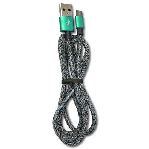 リーダーメディアテクノ LAZOS USB Type-Cケーブル USB2.0 1m ネイビー L-TC-R3