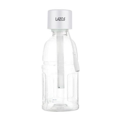 リーダーメディアテクノ Lazos ペットボトル用 加湿器 ホワイト L-HW-W