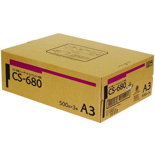 キヤノン コピー用紙 カラー・モノクロ兼用紙 A3 1500枚 CS-680