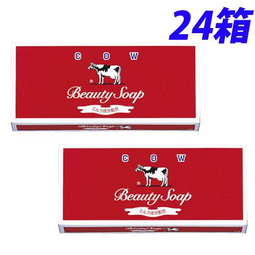 牛乳石鹸 固形石鹸 カウブランド 赤箱 レギュラーサイズ 各100g 6個入×24箱(144個)