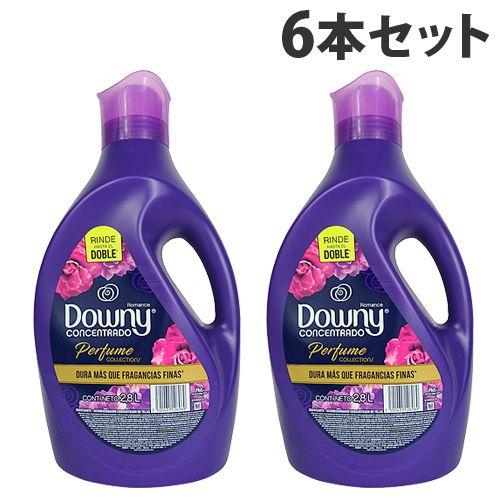 P&G 柔軟剤 メキシコダウニー ロマンス (Romance) 2.8L 6本