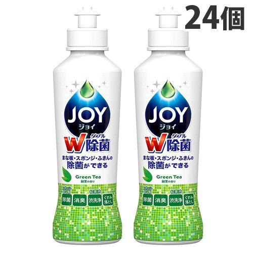 P&G 食器用洗剤 ジョイ 除菌ジョイコンパクト 緑茶の香り 本体 190ml ×24個