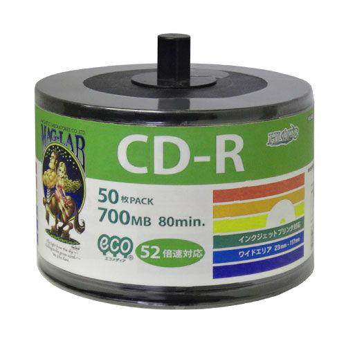 磁気研究所 CD-R HIDISC 700MB 52倍速 50枚 HDCR80GP50SB2
