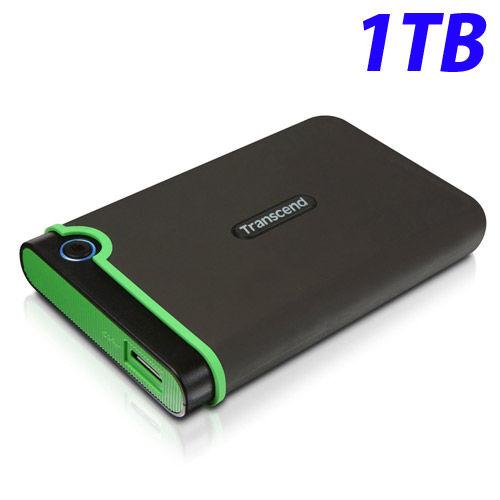 トランセンド HDD M3シリーズ ポータブルハードディスクドライブ 耐衝撃 USB3.1対応 2.5インチ 1TB