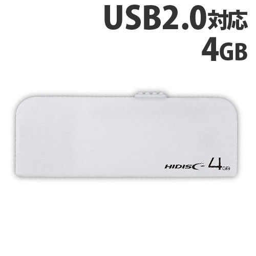 HIDISC USBフラッシュメモリー USB2.0 4GB HDUF116S4G2