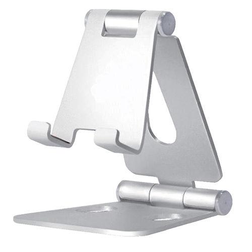 磁気研究所 HIDISC スマホ・タブレット両用スタンド 折り畳み式アルミスタンド HD-FSSV-L