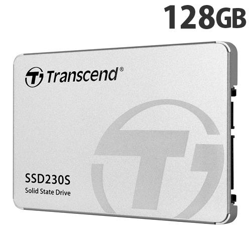 トランセンド SSD 128GB SATA-III 3D TLC搭載 2.5インチ アルミ筐体 TS128GSSD230S