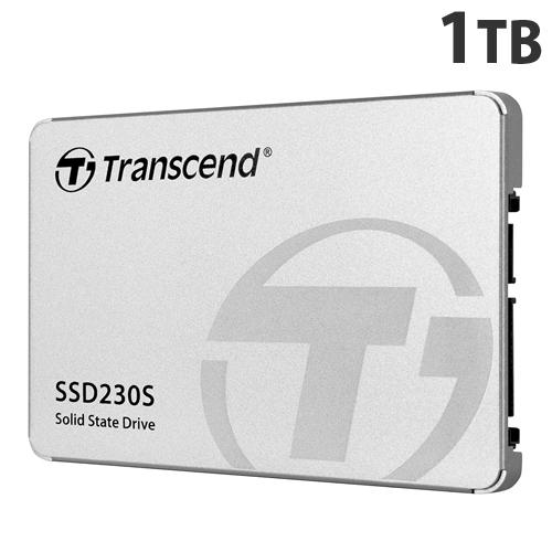 トランセンド SSD 1TB SATA-III 3D TLC搭載 2.5インチ アルミ筐体 TS1TSSD230S