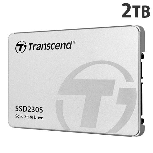 トランセンド SSD 2TB SATA-III 3D TLC搭載 2.5インチ アルミ筐体 TS2TSSD230S