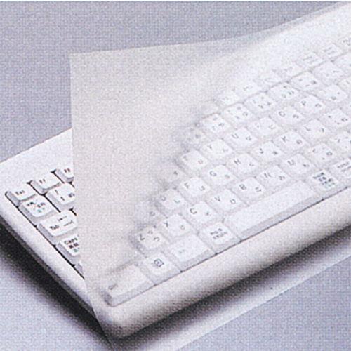 エレコム キーボードカバー ぴたッとシートSUPER デスクトップ用 1枚 PKU-FREE1