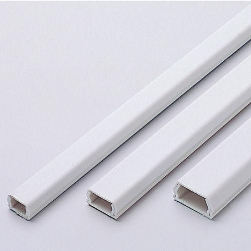 エレコム ミニモール ケーブル結束 フラットモール 裏面シール付 17mm幅 ホワイト LD-GAF1/WH