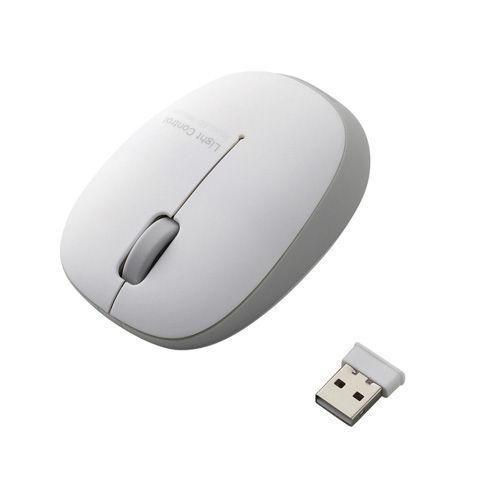 エレコム 無線マウス ワイヤレス BlueLEDマウス 2.4GHz ふわっと軽い 小型軽量 50g 3ボタン シルバー M-BL20DBSV