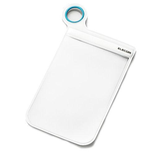 エレコム 防滴スマホケース スマートフォン用防滴ポーチ Lサイズ 汎用 ホワイト P-02DPWH