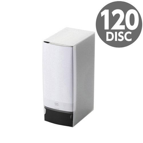 エレコム メディアケース Blu-ray/DVD/CD用ファイルケース 120枚収納 ブラック CCD-FS120BK