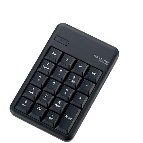 エレコム Bluetooth(R)ワイヤレステンキーパッド ブラック TK-TBM016BK