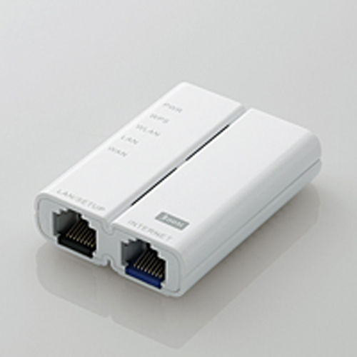 エレコム 無線LANホテルルータ 簡易パッケージ版 ホワイト WRH-300WH-H