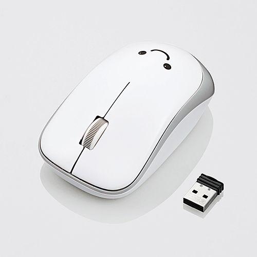 エレコム 無線マウス ENELOシリーズ ワイヤレス IRマウス 省電力 3ボタン ホワイト M-IR07DRWH