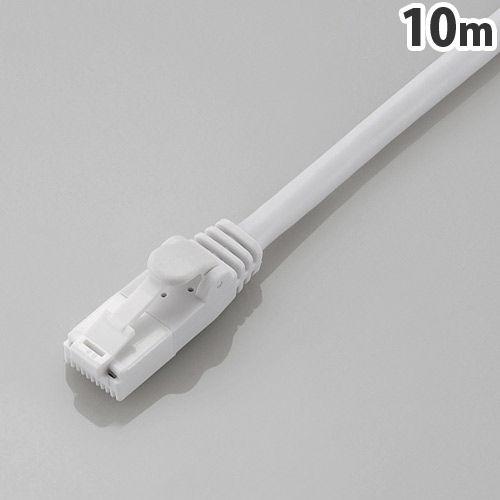 エレコム ツメ折れ防止LANケーブル CAT6 10m ホワイト LD-GPT/WH10/RS