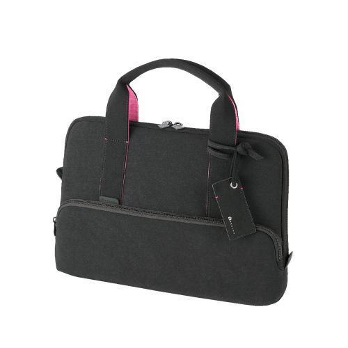 エレコム キャリングバッグ Betsumo Femininestyle カジュアルバッグ PC収納 別持ちバッグ 13.3インチワイド対応 ブラック BM-CA27BK