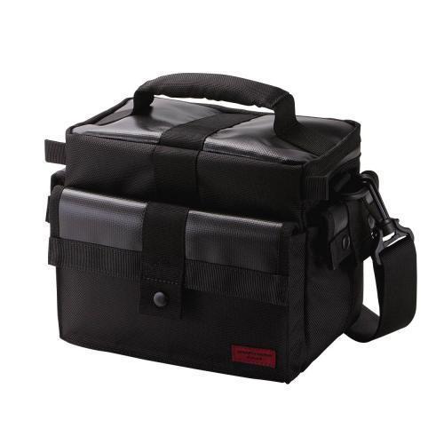 エレコム カメラケース GRAPHGEAR デジタル一眼レフカメラ用バック 幅260mm×奥行150mm×高さ200mm(ハンドル含まず) ブラック DGB-S005BK