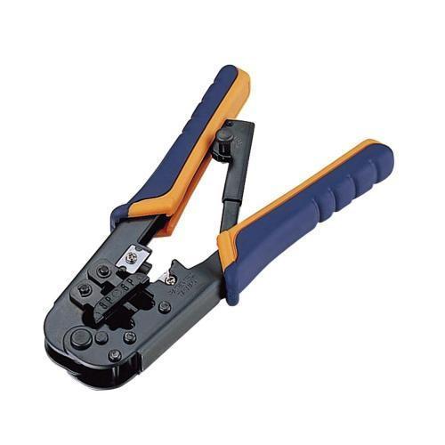 エレコム ラチェットタイプRJ45コネクタ かしめ工具 LD-KKTR