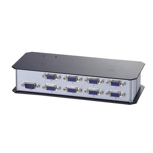 エレコム ディスプレイ分配器 ミニD-sub15ピン搭載PC用 8分配 VSP-A8