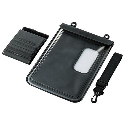 エレコム 車載用品 タブレットPC 汎用防水ケース 10.1インチ対応 ブラック TB-02WPSBK