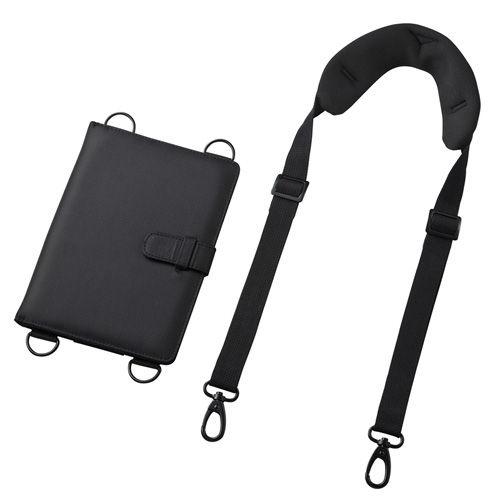 サンワサプライ タブレットケース ショルダーベルト付き タブレットPCケース 7~8型 ブラック PDA-TAB9