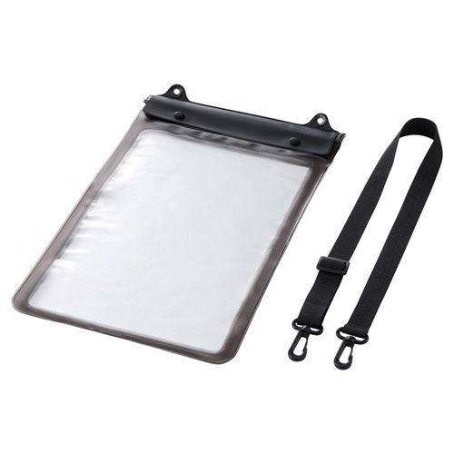 サンワサプライ タブレットケース タブレットPC防水ケース 汎用 12.5インチ ブラック PDA-TABWP12