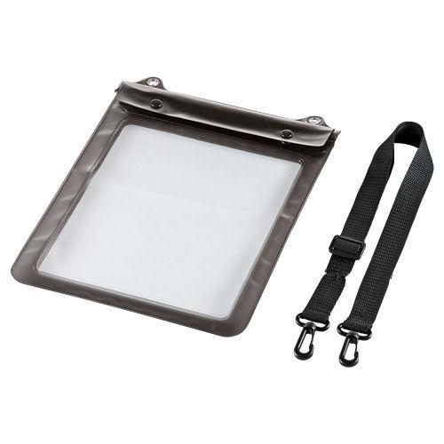 サンワサプライ タブレットケース タブレットPC防水ケース 10.1型 ブラック PDA-TABWP10