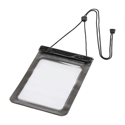サンワサプライ タブレットケース タブレットPC防水ケース 7型 7インチ汎用 ブラック PDA-TABWP7