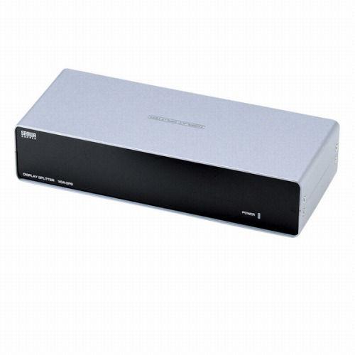 サンワサプライ 高性能ディスプレイ分配器 8分配 VGA-SP8